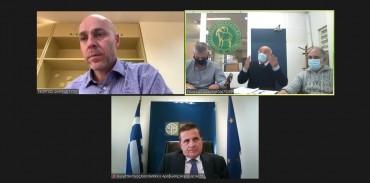 Συνάντηση της ΚΣΕ με το νέο Υφ. Περιβάλλοντος κ. Αμυρά