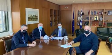 Συνάντηση της Κ.Σ.Ε. με τον Υπουργό Περιβάλλοντος & Ενέργειας κ. Κ. Σκρέκα