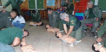 Εκπαίδευση των θηροφυλάκων και του προσωπικού της ΣΤ' ΚΟΜΑΘ στην Παροχή Α' Βοηθειών